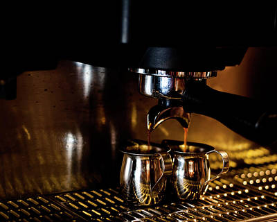 Double Shot Of Espresso 2 Art Print