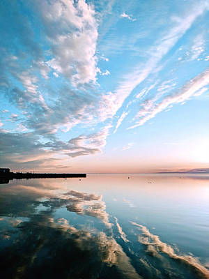 Photograph - Double Sky by Eric Schaeffer