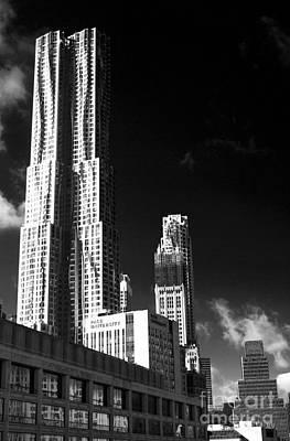 Photograph - Double Skyscraper by John Rizzuto