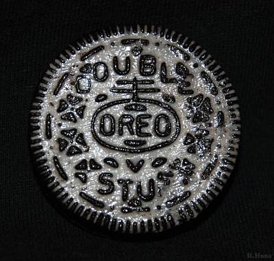 Photograph - Double Stuff Oreo by Rob Hans