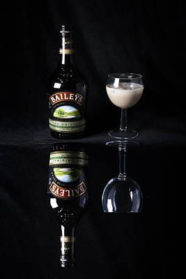 Photograph - Baileys Original Irish Cream Liqueur Double Take 1 by Dominick Moloney