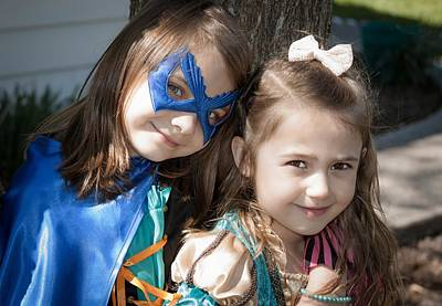 Photograph - Double The Superheroes by Theresa Johnson