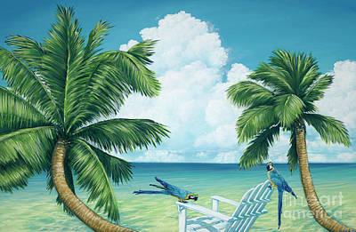 Painting - Double Trouble by Elisabeth Sullivan