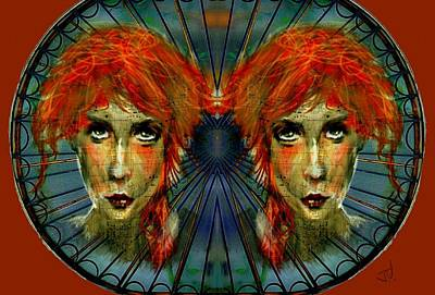 Painting - Double Trouble by Jim Vance