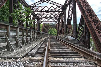 Photograph - Double Truss Bridge #1679 On The Wmsr by Jeannette Hunt