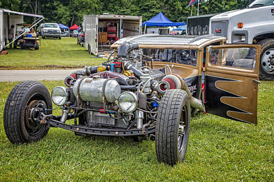 Photograph - Double Turbo Rat by Bill Linhares