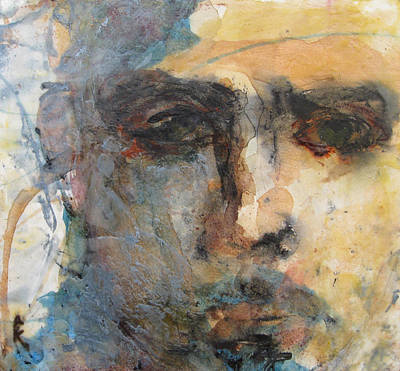 Abstracted Figuration Painting - Double Vision by Kohlene Hendrickson