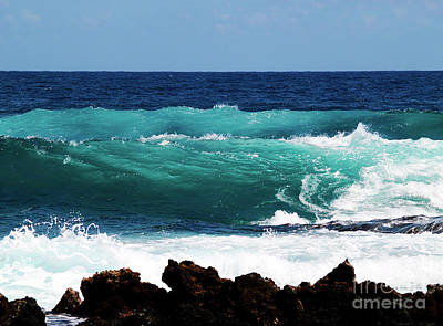 Photograph - Double Waves by Patricia Griffin Brett