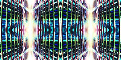 Tron Wall Art - Photograph - Doubled - Tron by Dee Winslow