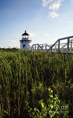 Photograph - Doubling Point Light, Arrowsic, Maine #40012 by John Bald