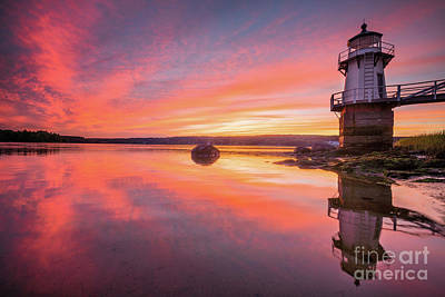 Photograph - Doubling Point Light Reflection by Benjamin Williamson