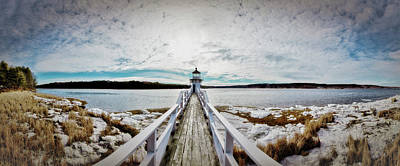 Photograph - Doubling Point Panoramic by Gary Shepard