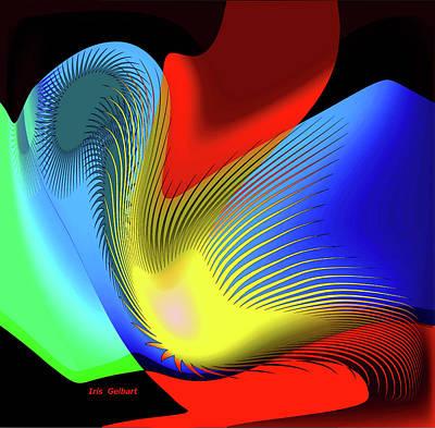 Digital Art - Doubt by Iris Gelbart