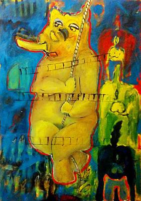Rav Painting - Doubt by Noga Ami-rav