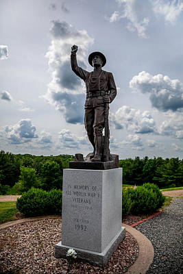 Doughboy Photograph - Doughboy Remembered by Michael Horst