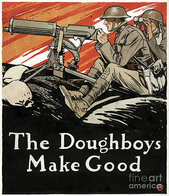 Painting - Doughboys, 1918 by Granger