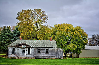 Photograph - Dougherty Autumn Abandon by Bonfire Photography