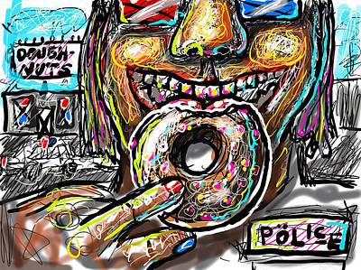 Digital Art - Doughnuts by Joe Bloch