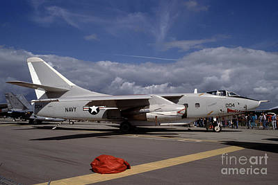 Photograph - Douglas A-3d Skywarrior by Wernher Krutein