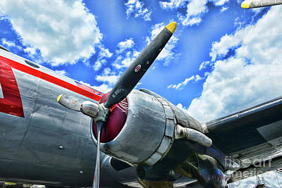Photograph - Douglas C-54e Skymaster by Paul Ward