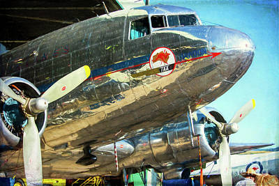 Photograph - Douglas Dc3 Nose by Stuart Row