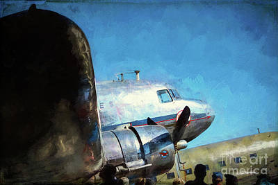 Photograph - Douglas Dc3 by Stuart Row