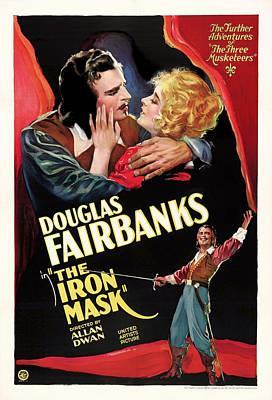 Show Mixed Media - Douglas Fairbanks In The Iron Mask 1929 by Mountain Dreams