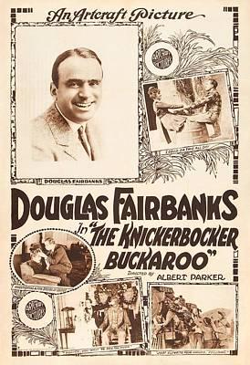 Douglas Fairbanks In The Knickerbocker Buckaroo 1919 Art Print by Mountain Dreams