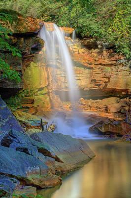 Photograph - Douglas Falls, Wv by Jack Nevitt