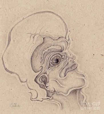 Drawing - Douglas Furby  by Casey Burton