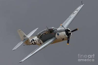 Naval Aircraft Photograph - Grummantbf Avenger 2011 Chino Planes Of Fame by Gus McCrea
