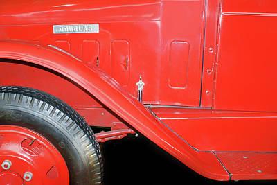 Photograph - Douglas Truck - Red Truck Detail by Nikolyn McDonald