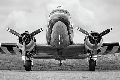 Photograph - Douglass C-47 Skytrain - Dakota - Gooney Bird by Gary Heller