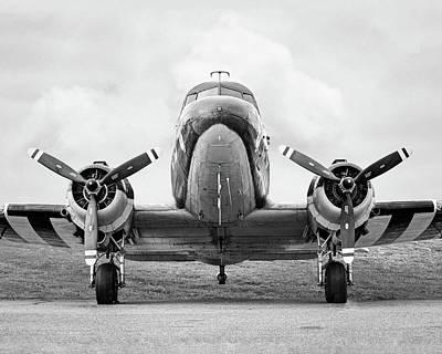 Photograph - Douglass C-47 Skytrain - Gooney Bird by Gary Heller