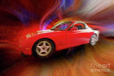 Photograph - Dougs 1993 Mazda Rx7 by Blake Richards