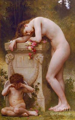 Photograph - Douleur D'amour 1899 by Padre Art