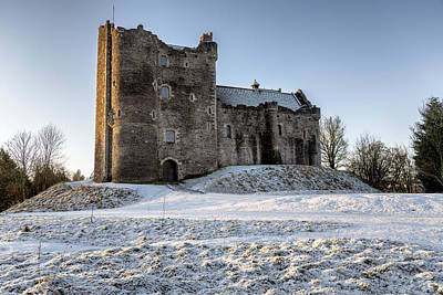 Photograph - Doune Castle In Central Scotland by Jeremy Lavender Photography