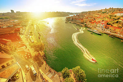 Photograph - Douro River At Sunset by Benny Marty
