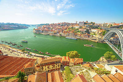 Photograph - Douro River Porto by Benny Marty