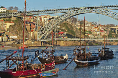 Photograph - Douro Riverside In Porto by Angelo DeVal