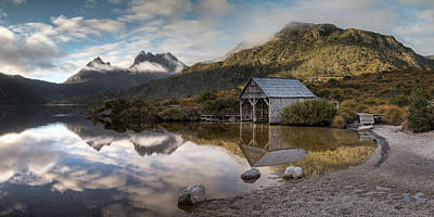 Photograph - Dove Lake 1 by Brad Grove