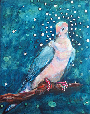 Painting - Dove Magic by Kimbo Jackson