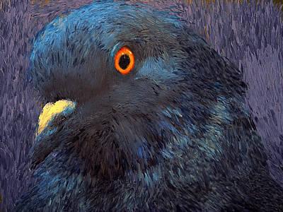 House Pet Digital Art - Dove Nature by Yury Malkov
