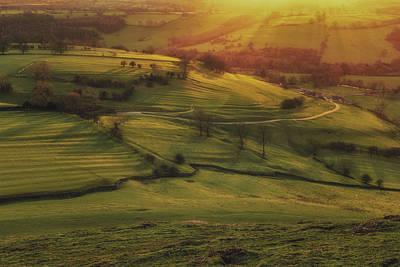 Peak District Photograph - Dovedale Sunset 2 by Chris Fletcher