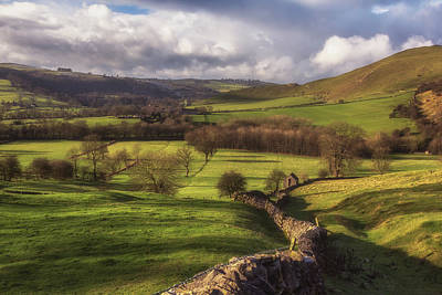 Peak District Photograph - Dovedale Valley by Chris Fletcher