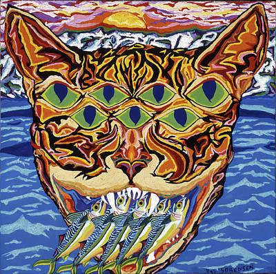 Painting - Dover Cat by Robert SORENSEN