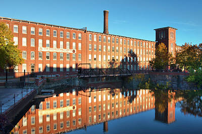 Photograph - Dover Cocheco Mills by Eric Gendron