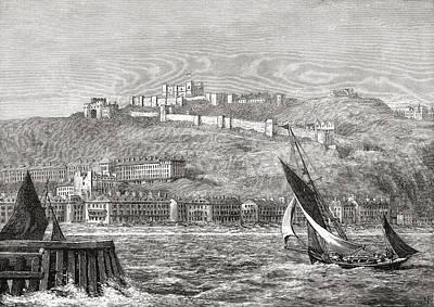 Dover, Kent, South East England, Seen Art Print