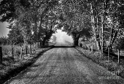 Photograph - Down A Lonely Road by Douglas Stucky
