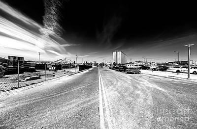 Photograph - Down Asbury Avenue by John Rizzuto